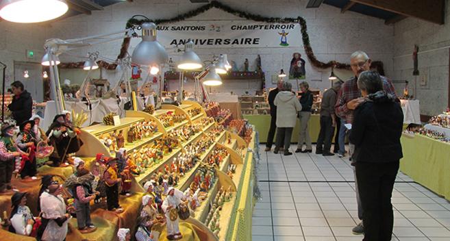 La Foire aux Santons de Champtercier est ouverte…