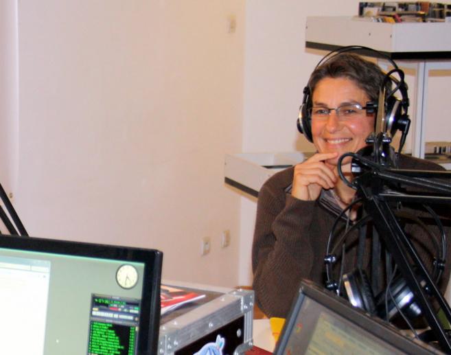 Pascale Brun, professeur a été interrogée par son élève à Sisteron !