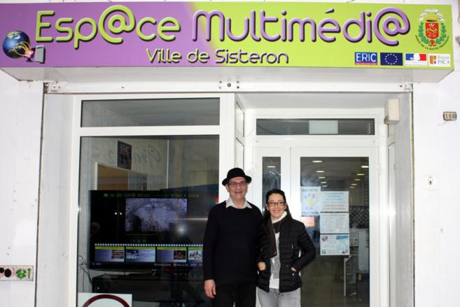 Le Centre Multimédia de Sisteron innove en matière d'animations !