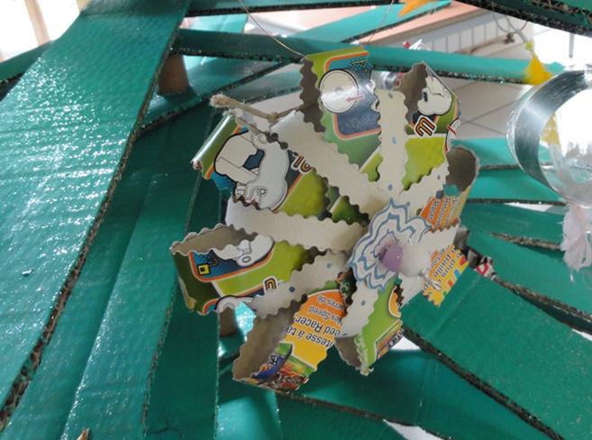 Action originale à Digne pour sensibiliser au tri des déchets…