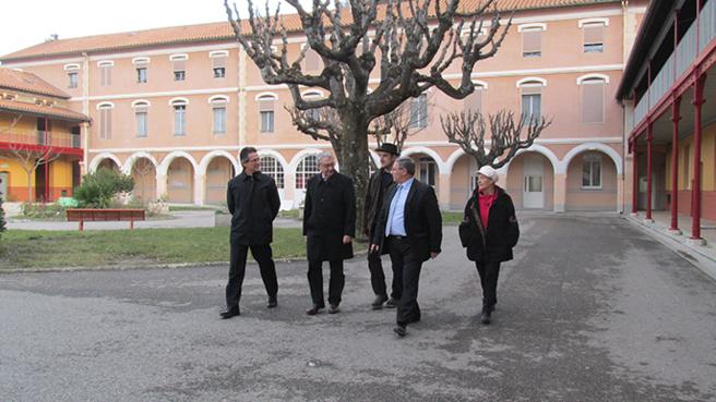 Participation originale au Téléthon pour un collège dignois.