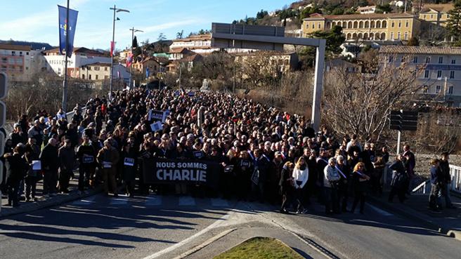 Spéciale Je suis Charlie - Digne 12/01/2015