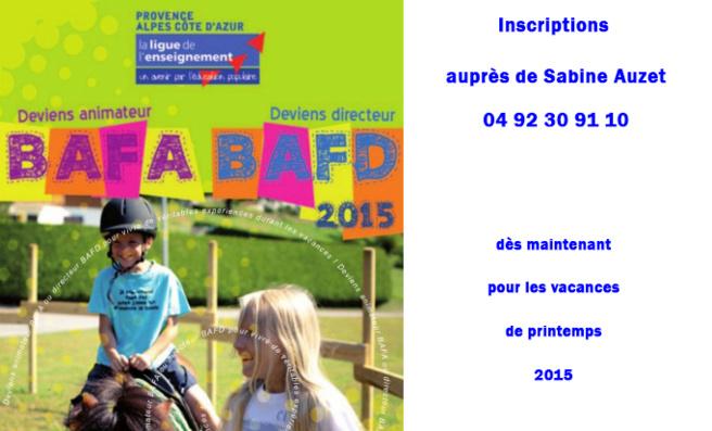 La formation au Bafa est d'actualité pour les jeunes à partir de 17 ans.