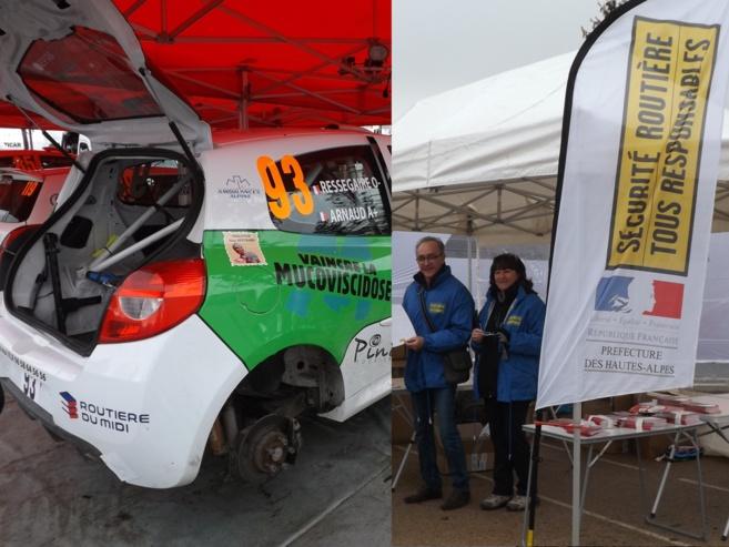 Rallye Monte-Carlo : des stands surprenants et utiles à Gap.