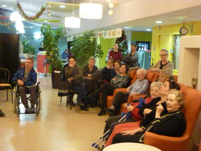 Les vœux des officiels pour 2015 au nouvel hôpital de Castellane.