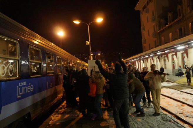 Ils s'opposent à la suppression du train Briancon/Paris