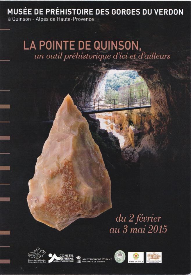 Le Musée de préhistoire célèbre un outil rare : la pointe de Quinson !