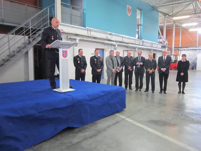 Christophe Devaux remplace Denis Barkat à la tête des pompiers manosquins