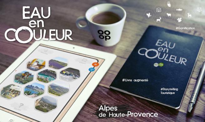 Le premier livre augmenté permet de découvrir autrement les Alpes de Haute Provence.