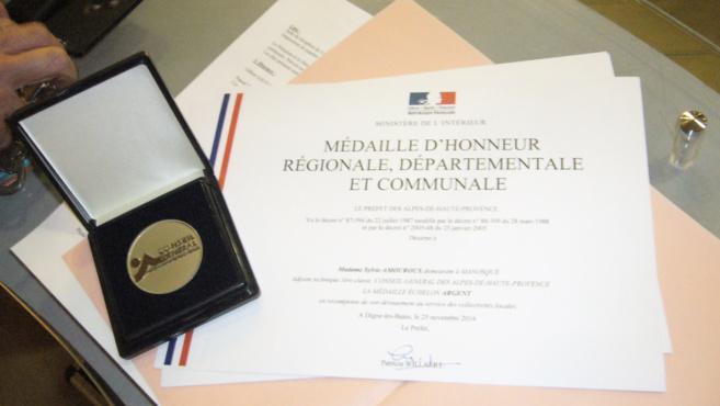 Des agents du Département ont été médaillés.