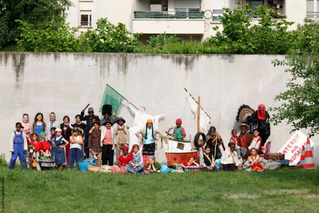 De riches échanges culturels ont eu lieu entre la troupe Tamèrantong et les enfants Briançonnais (Partie 2)