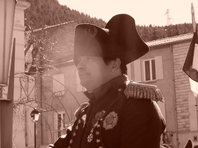 Le 3 mars 2015 Napoléon était de passage à Castellane