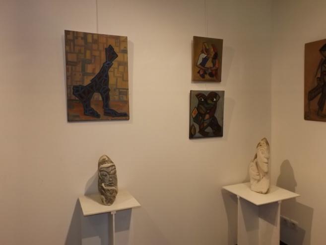 Michel Paris, un artiste sculpteur de pierre s'expose à Gap