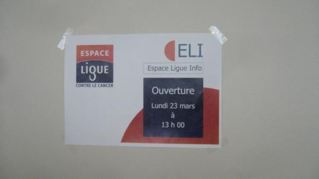 L'hôpital de Digne ouvre un espace d'information sur le cancer.