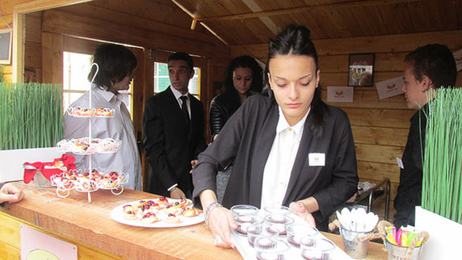 Un chalet construit par des élèves de Segpa inauguré à Digne au collège Gassendi