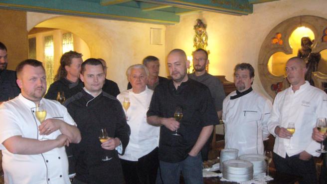 12 chefs locaux réunis pour former l'association Haute Provence gourmande