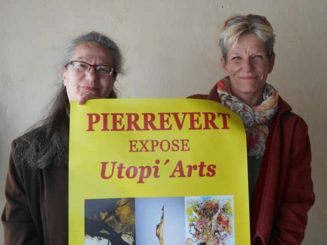L'association Utopi'Arts  expose à Pierrevert