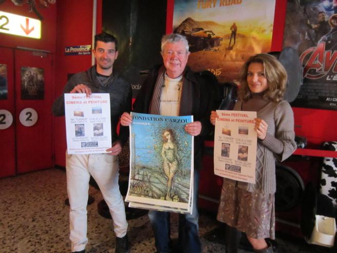Le 9° Festival Cinéma et Peinture a lieu ce week-end à Manosque