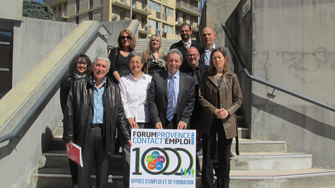 Le Forum régional pour l'emploi  c'est ce jeudi 16 avril à Digne