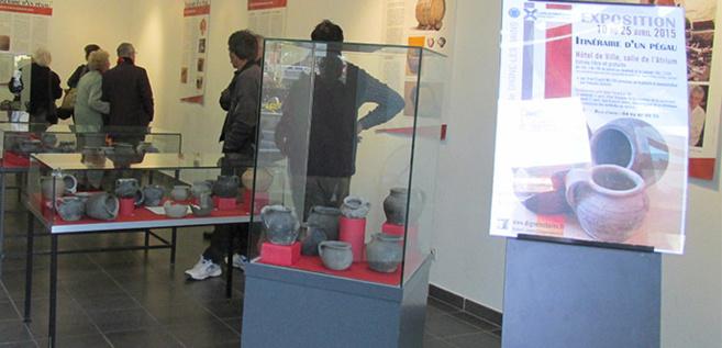 Itinéraire d'un pégau, exposition à l'Atrium jusqu'au 25 avril