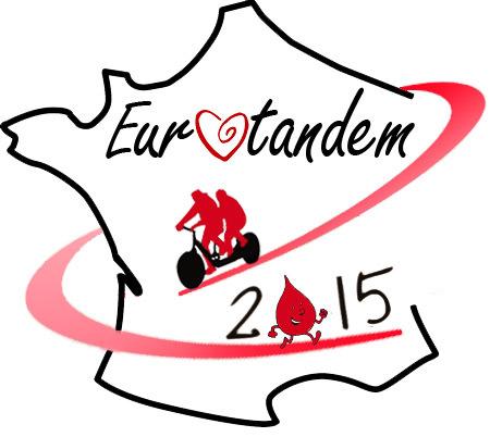 Le tour de France en tandem pour le don du Sang, fait étape à Digne