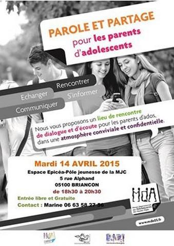Parole et Partage au Point d'accueil et d'écoute des jeunes, le PAEJ de Briançon