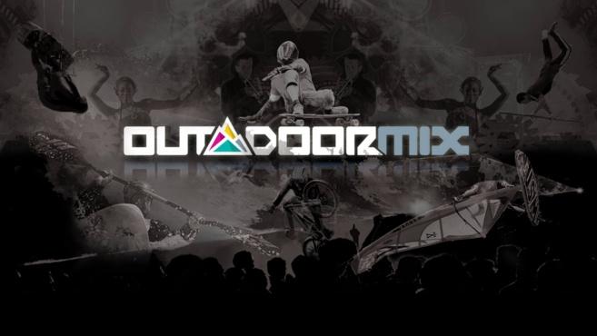 Entre sports et musique ça roule, ou plutôt ça glisse au Outdoormix Festival