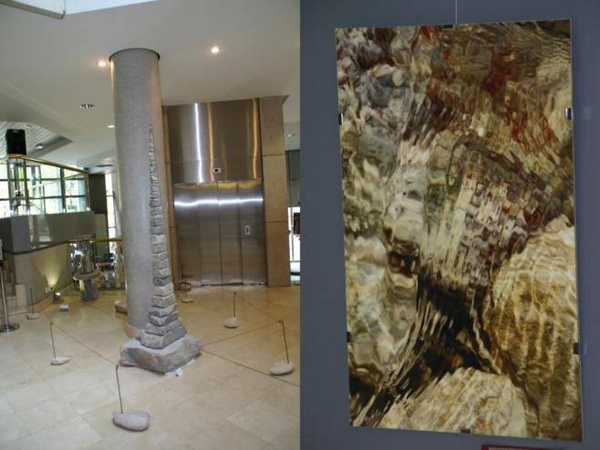 Une exposition de pierre et d'eau surprenante à Gap.