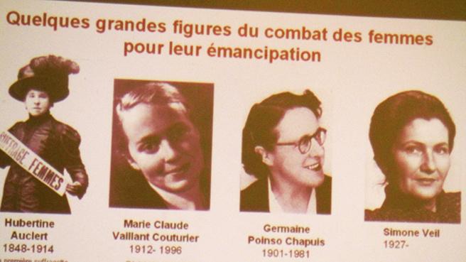 Les Françaises ont le droit de voter depuis 70 ans.