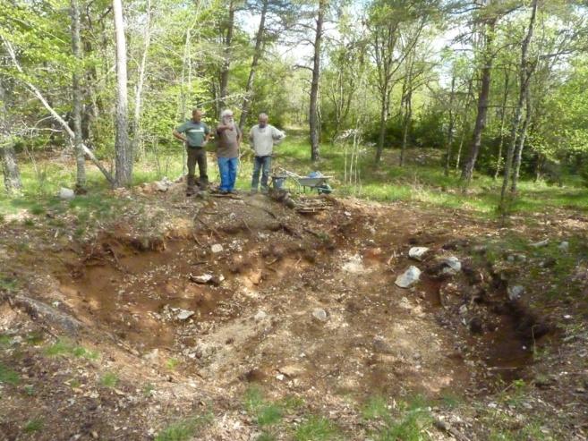 A la découverte du four à chaux du Siounet à Comps-sur-Artuby