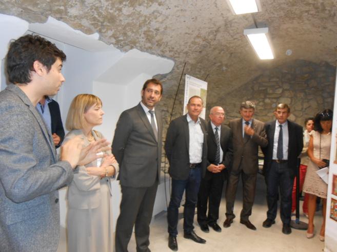 La maison du tourisme et du territoire a t inaugur e forcalquier - Office du tourisme forcalquier ...