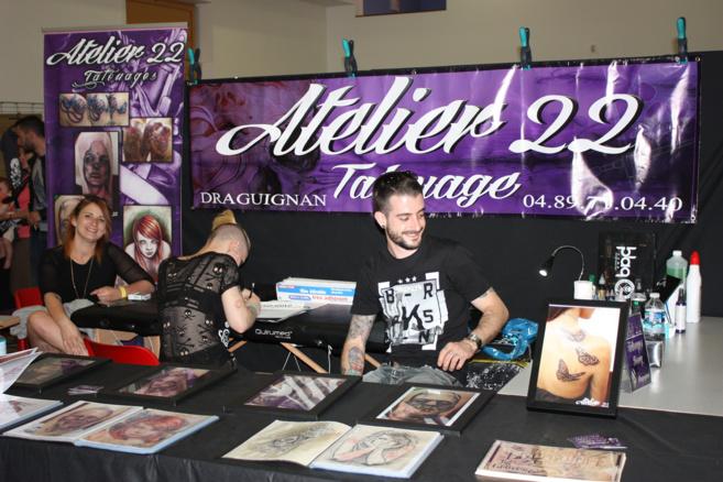 Château-Arnoux a accueilli le salon du tatouage !