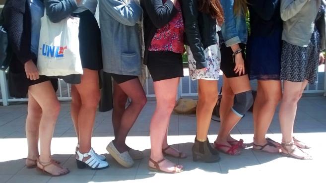 Les lycées de Manosque en jupe contre le sexisme