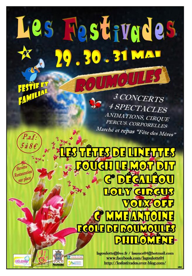 La 4ème édition des Festivades à Roumoules