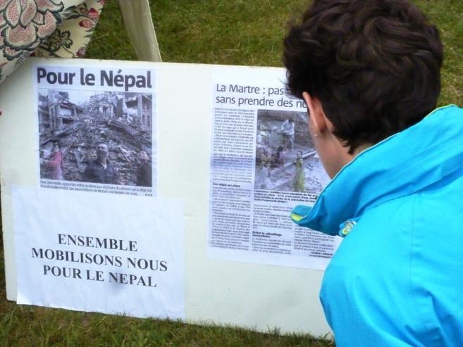 La Martre se mobilise et appelle à la solidarité pour le Népal