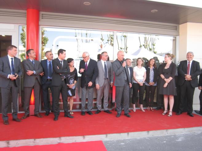 La Caisse d'Epargne a inauguré une agence-pilote à Manosque