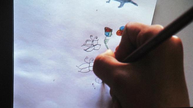 Rencontres artistiques entre Yannick Papailhau et des élèves de Digne