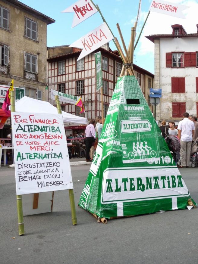 Les Alternatibas, village des alternatives climatiques, sociales et écologiques, se visitent à Gap