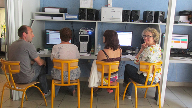 Digne fait preuve d'innovation en matière d'information numérique