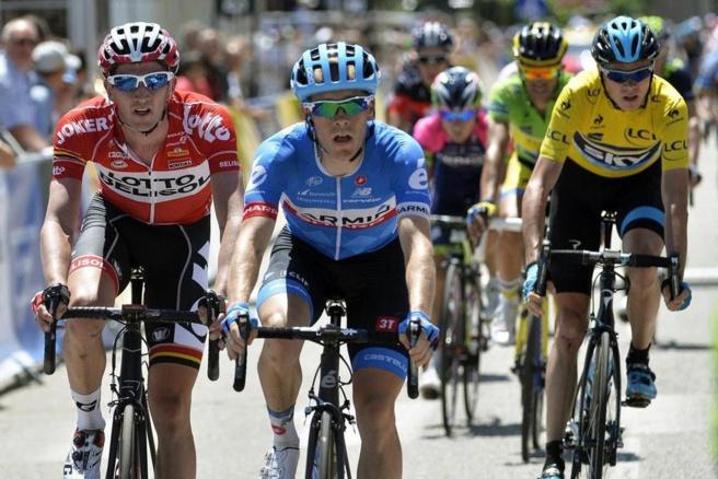 La 4ème étape du Dauphiné débarque à Sisteron !