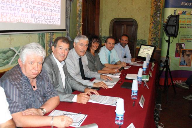 Patrick Martellini réélu à la présidence de mission locale 04 !