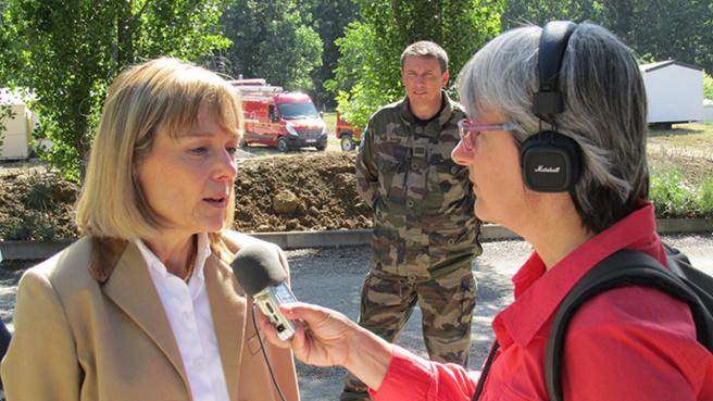 Le camping de Saint Julien d'Asse évacué en urgence… pour un exercice de sécurité.