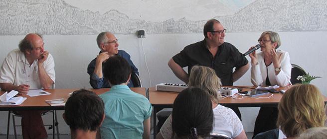 A Digne, un temps de rencontre et de partage entre bibliothécaires autour du polar sur fond de Jazz