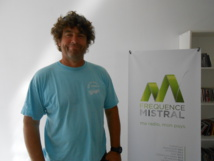 Frédéric Dieudonné, responsable sportif de l'Aviron Club de Manosque