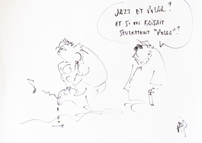 Jazz et Polar : Philippe Carrese à la médiathèque de Digne