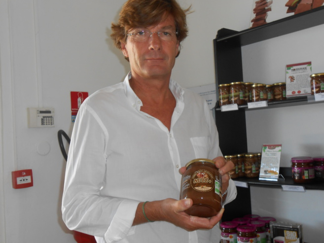 François Rochet, le PDG de Sofalip/Perl'Amande