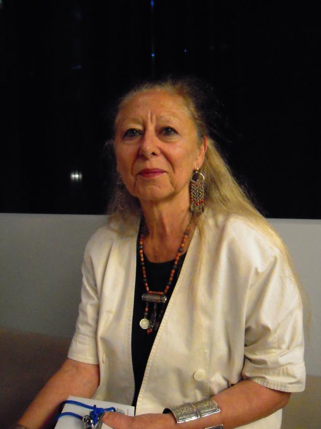 Myriame Morel Deledalle, Conservateur en chef au patrimoine du MUCEM et commissaire de l'exposition.