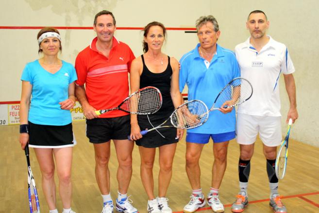 3ème édition de l'open international de squash moyenne Durance !