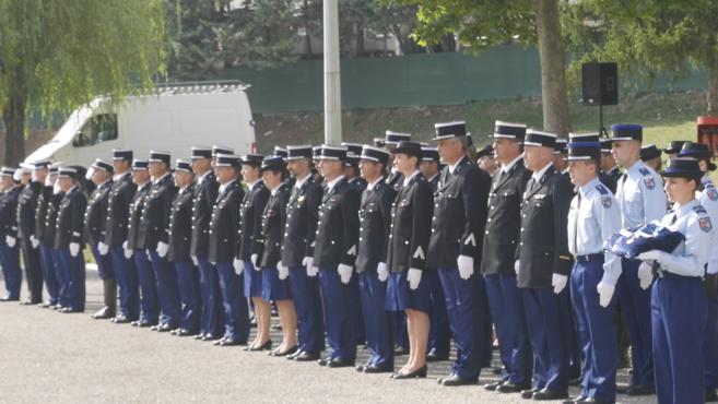 Dernière prise d'armes à Digne-les-Bains pour le Colonel Christophe Brochier
