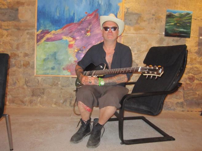 Sanseverino était en concert à Gréoux hier soir…